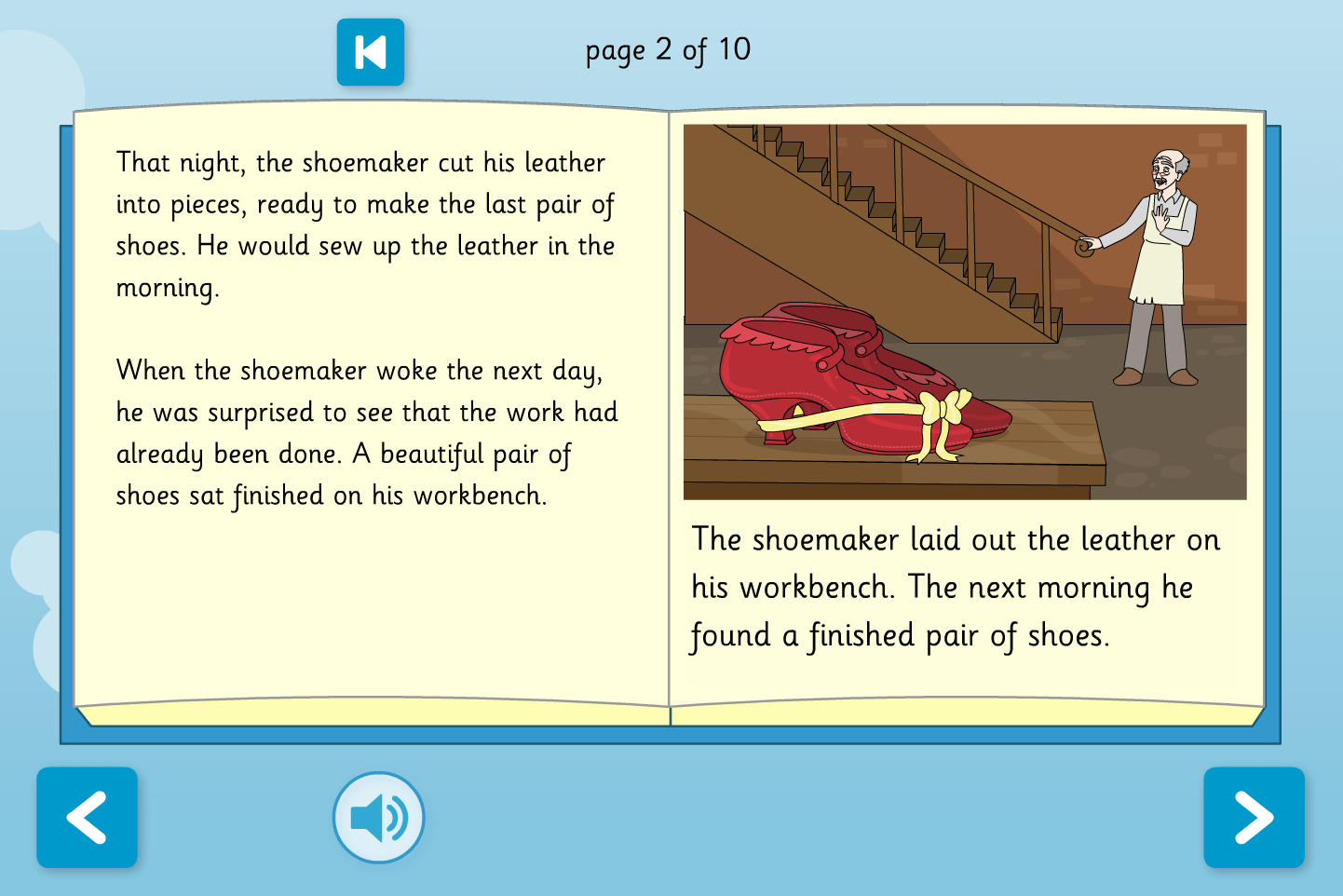 The Elves And The Shoemaker Interactive Storybook