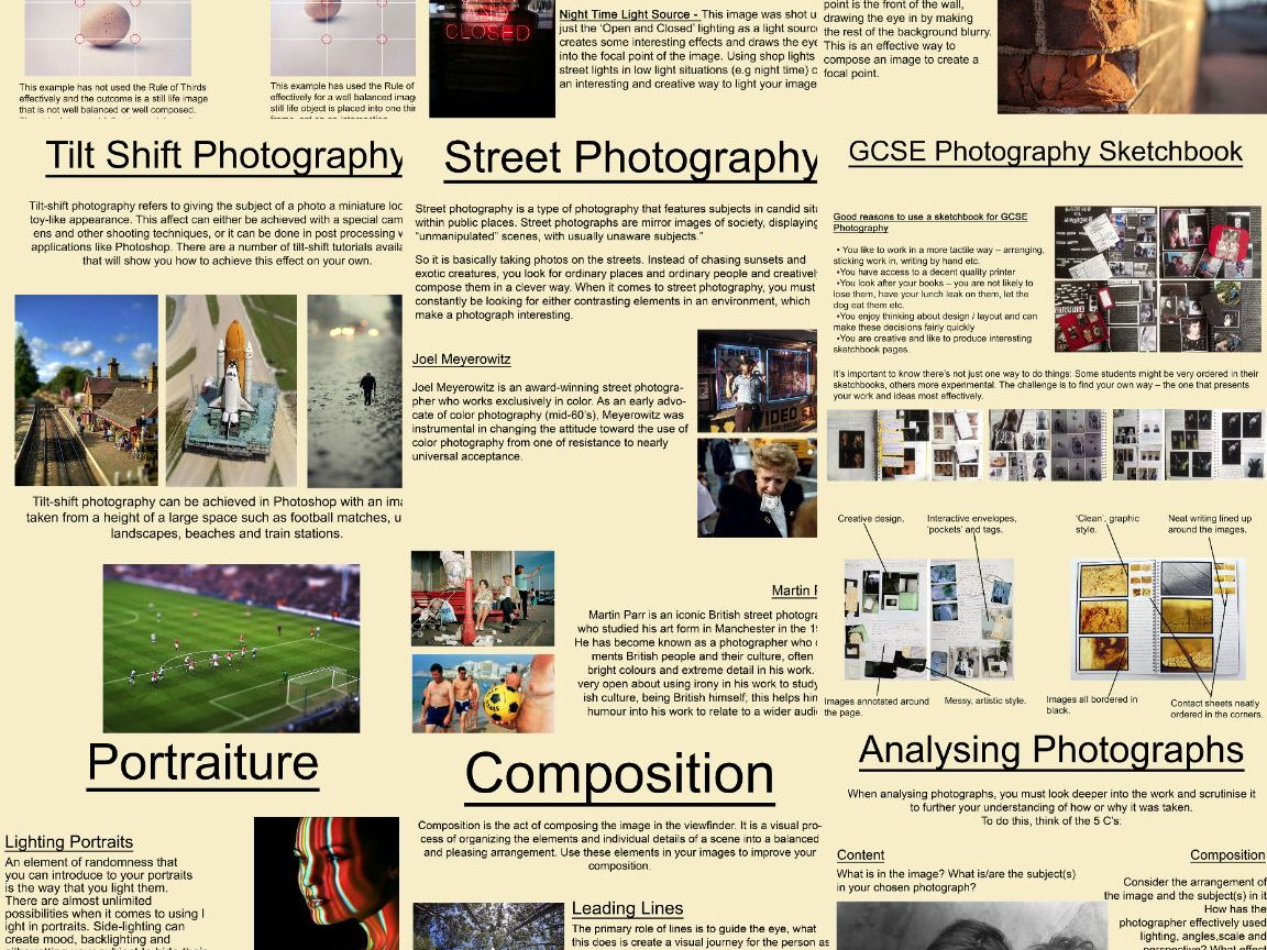 Art Amp Photography Poster Handout Bundle By Jcosta1