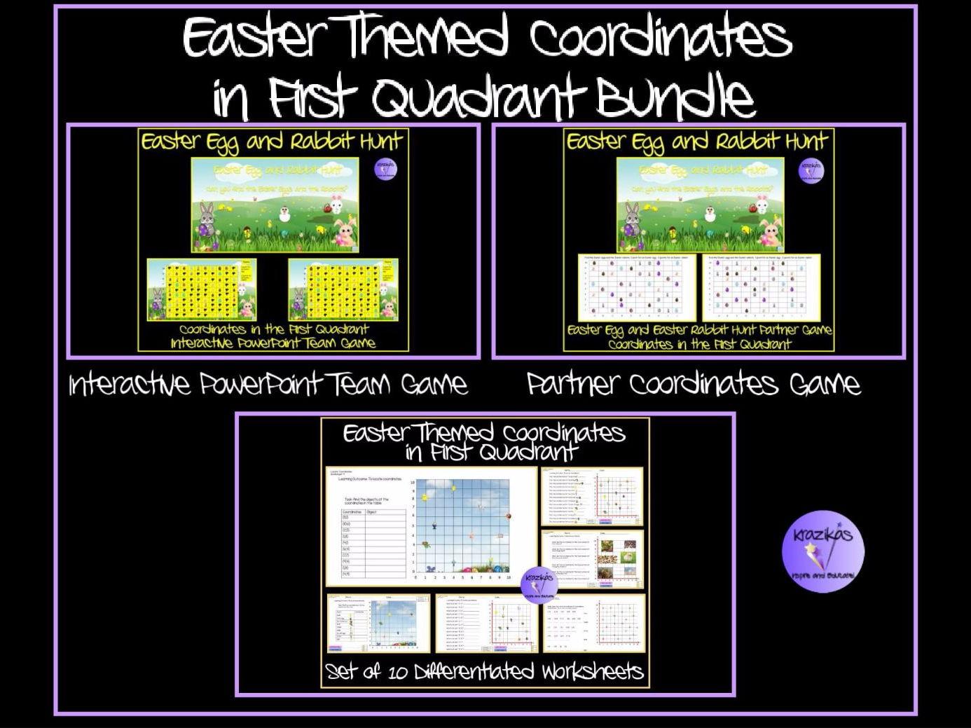 Secondary Algebra Teaching Resources Co Ordinates