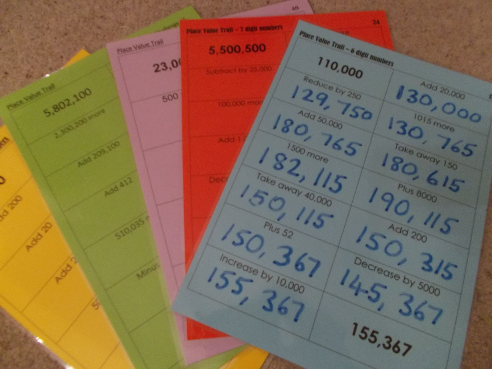 Primary Number Teaching Resources Place Value