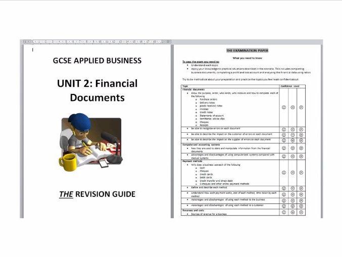 Edexcel Applied Business Finance revision by bonjovifan35