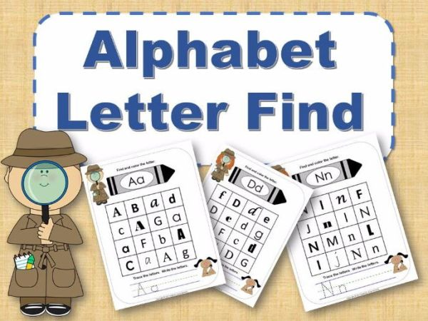find the alphabet # 45