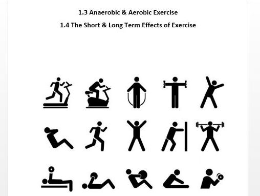 Edexcel GCSE PE 9-1. Aerobic/Anaerobic Exercise & The