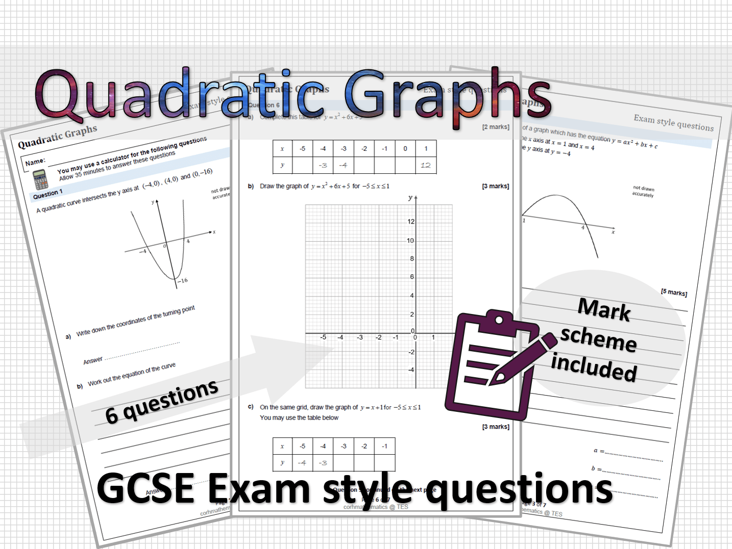 Secondary Maths Teaching Resources Algebra Worksheets For