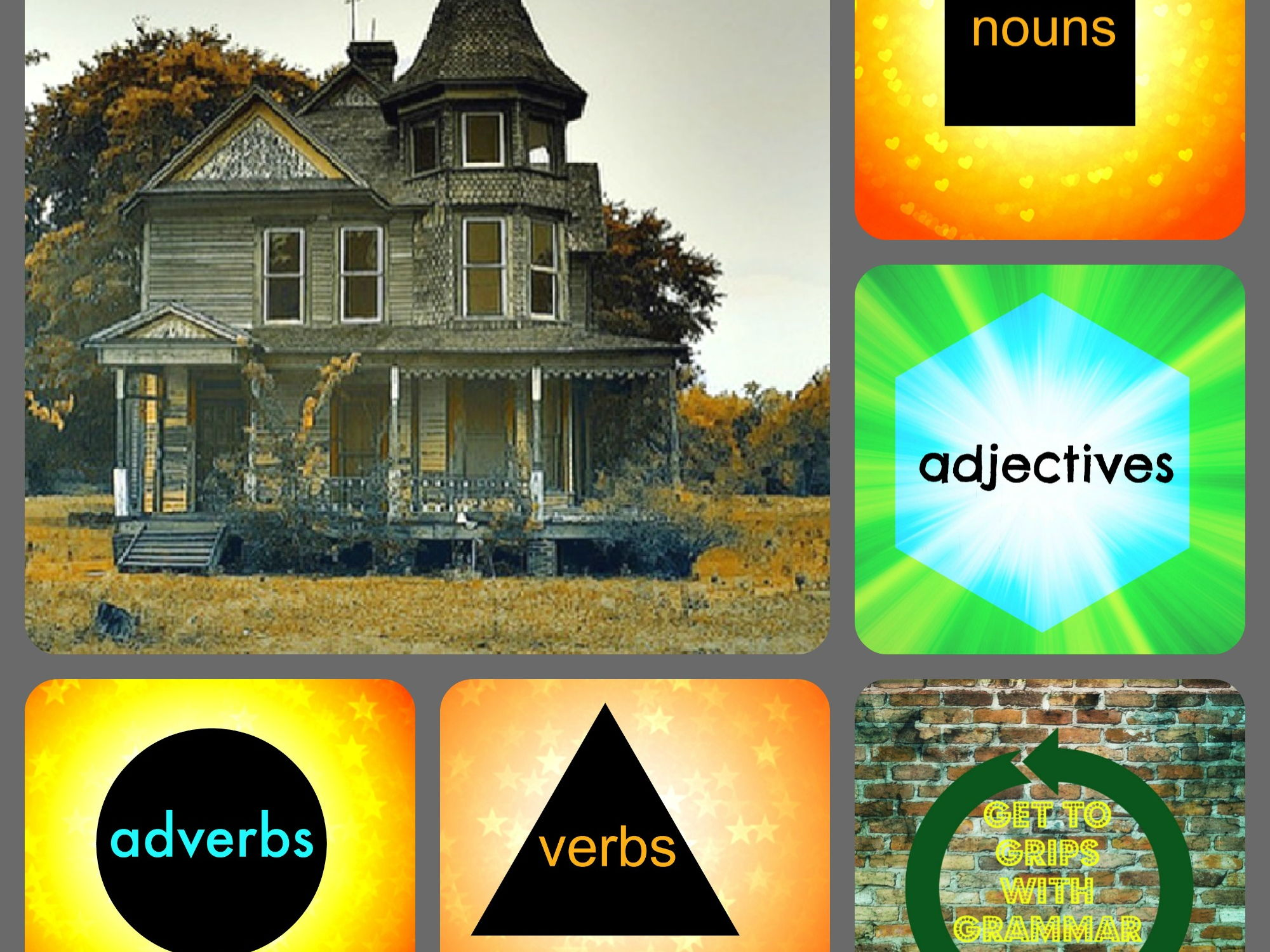 Adjectives Adverbs Verbs And Proper Nouns Revision By