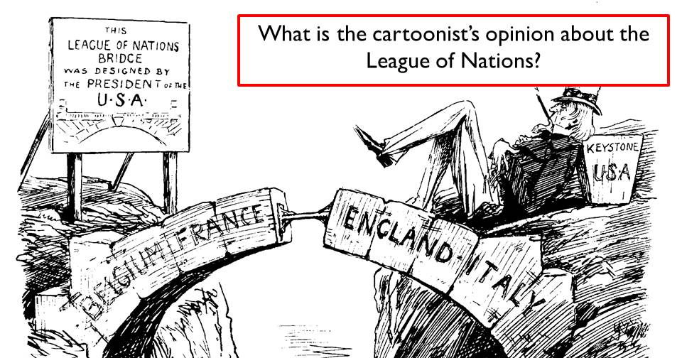 Why didn't America join the League of Nations? by