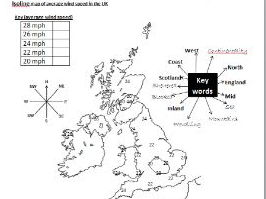 GCSE KS3 map skills activities (AQA OCR Edexcel) geography