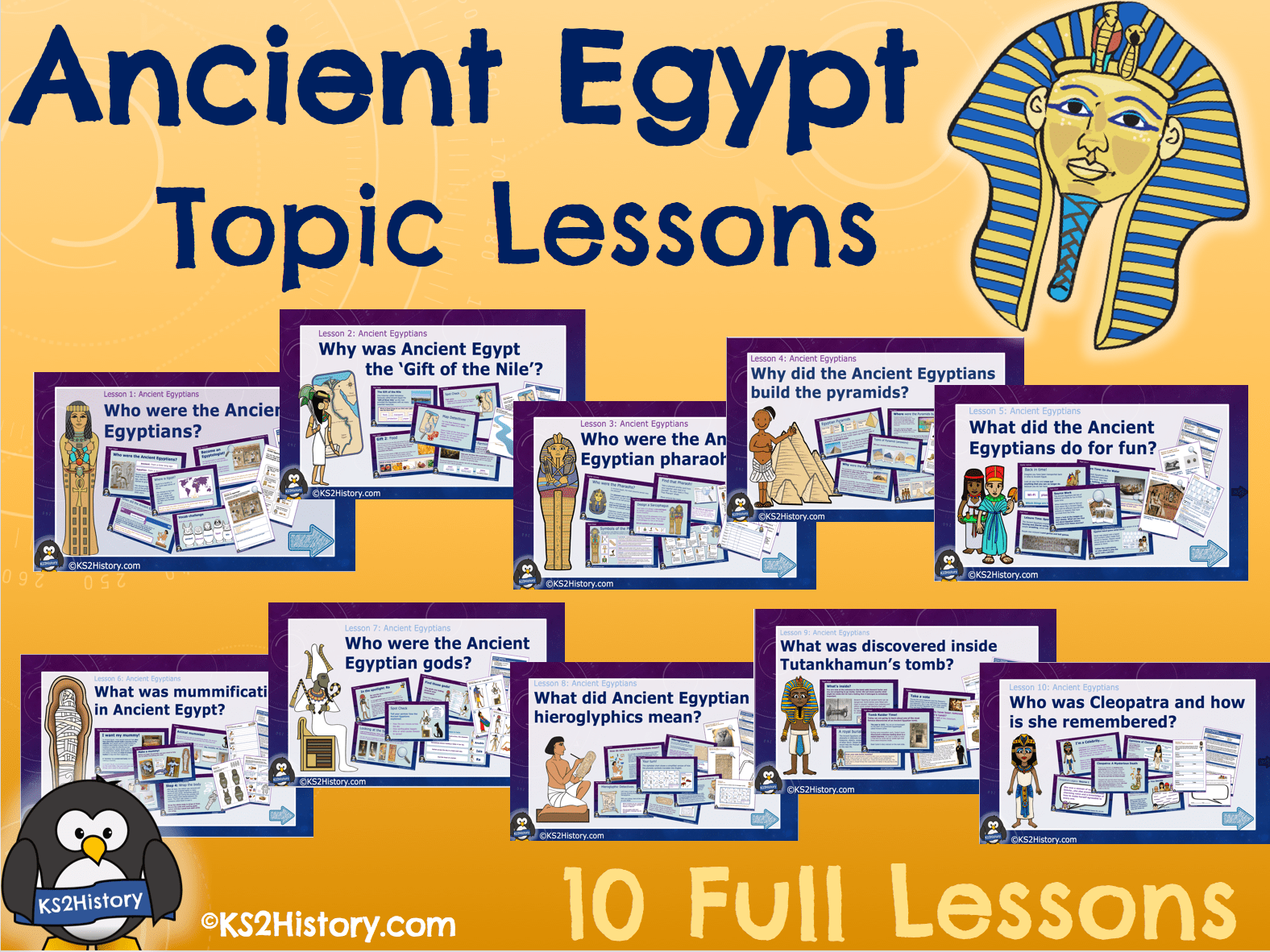 Secondary Egypt Resources
