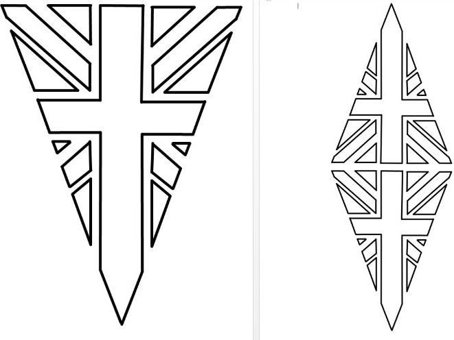 Union Jack (Flag) Bunting colouring in by Nataliebu