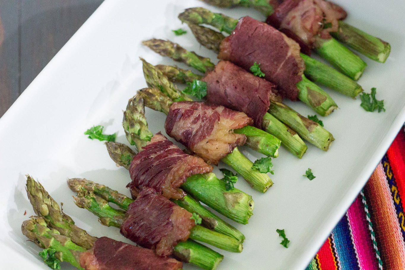 Rachael Ray Bacon Wrapped Asparagus