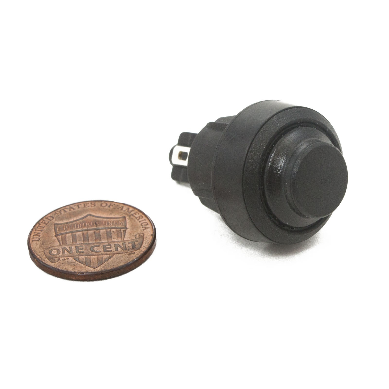 hight resolution of control box push button switch penny shown for scale