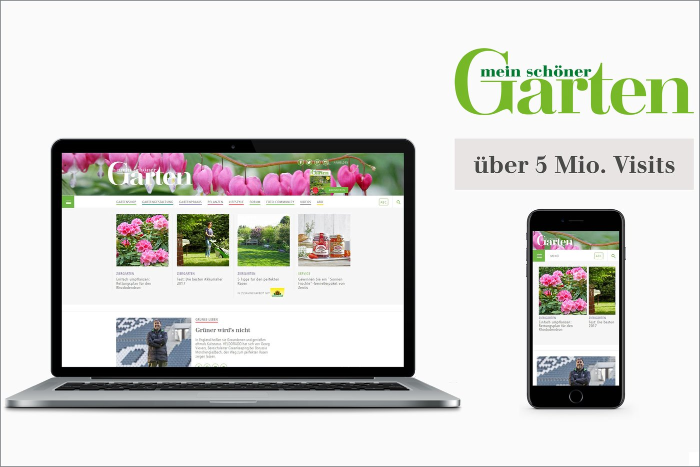 Mein Schöner Garten Forum News: Surge In Digital Growth