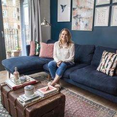 Build Living Room Furniture Blue Area Rug Before After How This Londoner Designed A New Flat Into The Homewings And Design Interior Ideas