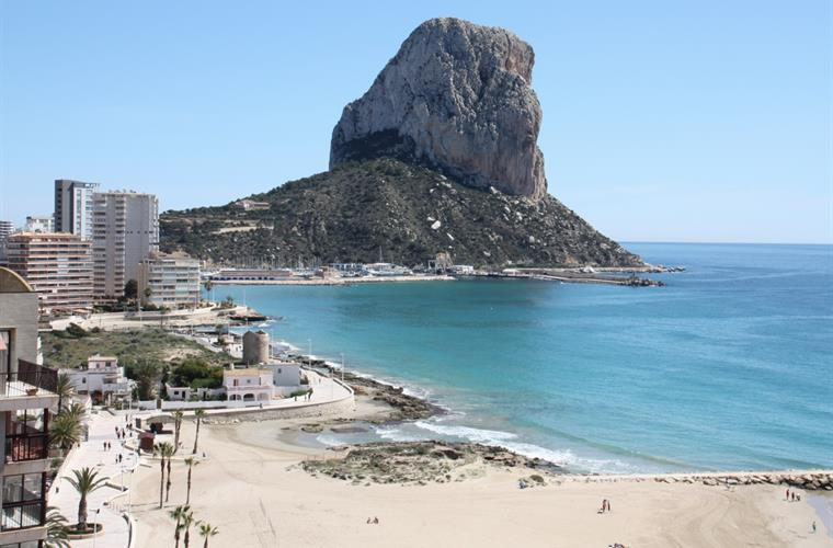 Holiday apartment for rent in Calpe Playa El Arenal