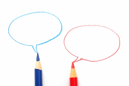 色エンピツ 色鉛筆 吹き出し ふきだし 会議 ビジネス 意見 打ち合わせ 契約 賛成 会話 考え 悩む セリフ 言葉 コピースペース 考える 話し合い 議論 対話 文字 メモ 記録 プレゼン ミーティング 台詞 せりふ プレゼンテーション 商談 議事録