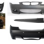Bmw E60 5 Series Yrs 03 08 M5 Bodykit Front Rear Bumpers Sideskirts Style Plastic