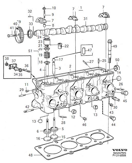 Cylinder head blanking plug B200 & B230