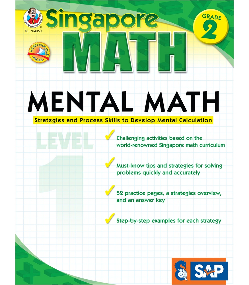 medium resolution of Singapore Math: Mental Math Gr. 2 Book