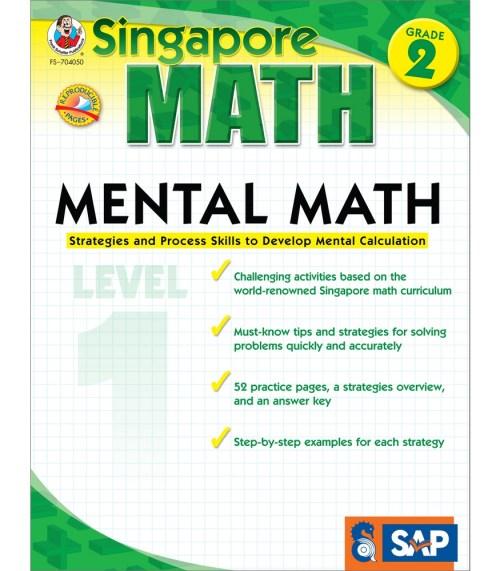 small resolution of Singapore Math: Mental Math Gr. 2 Book