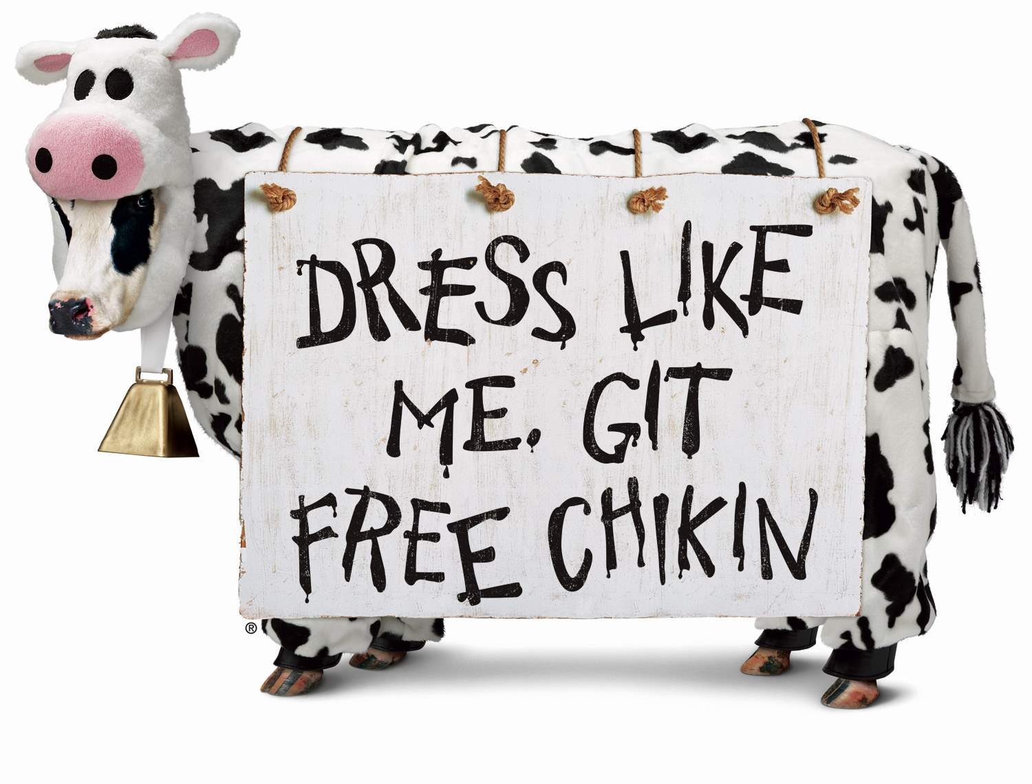 20th Anniversary Of The Eat Mor Chikin Cow Campaign Chick Fil A