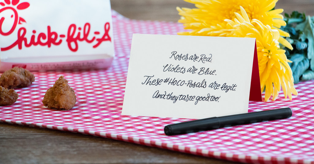 Will You Go To #HoCo? Chick Fil A