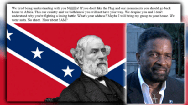 Lawmaker called 'n****r' for supporting removal of Confederate monuments news Screen Shot 2017 09 05 at 3.43.34 PM 600x336