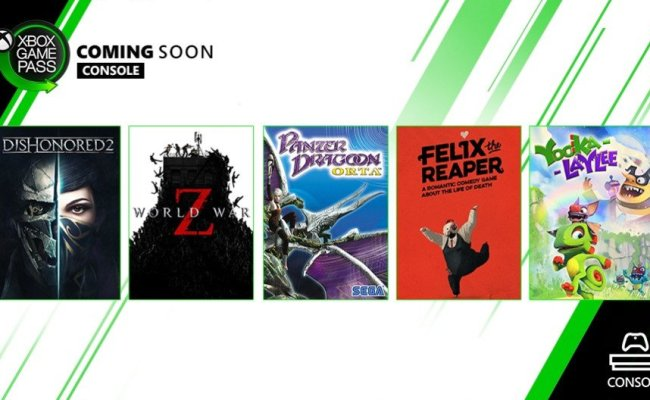 Six New Games Coming To Xbox Game Pass In October Allgamers