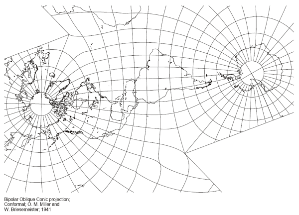 Polar Maps and Projections: Part 1, Overview ← Winwaed Blog