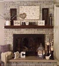 Why People are Painting Interior Brick Fireplaces ...