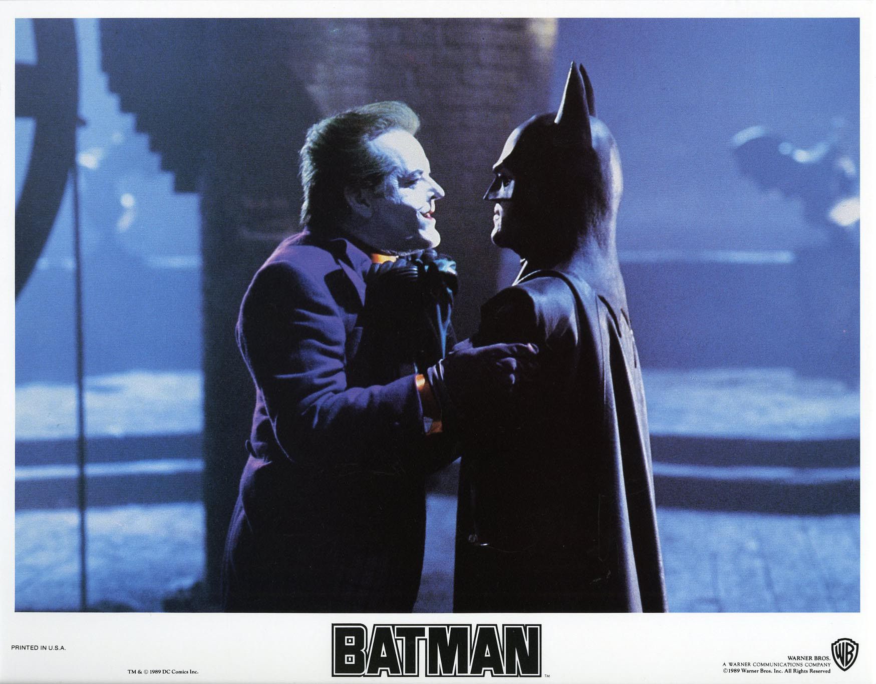 BATMAN WB 1989 Lobby Card Set MICHAEL KEATON NM