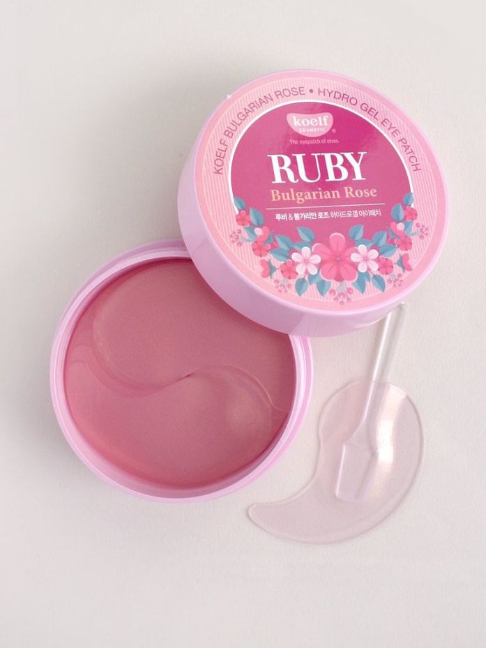 PETITFEE Ruby & Bulgarian Rose Eye Patch (60 Patches)