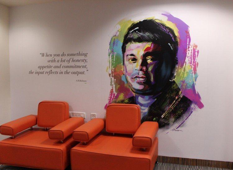 Grammy-winning Tamil musician A.R. Rahman.
