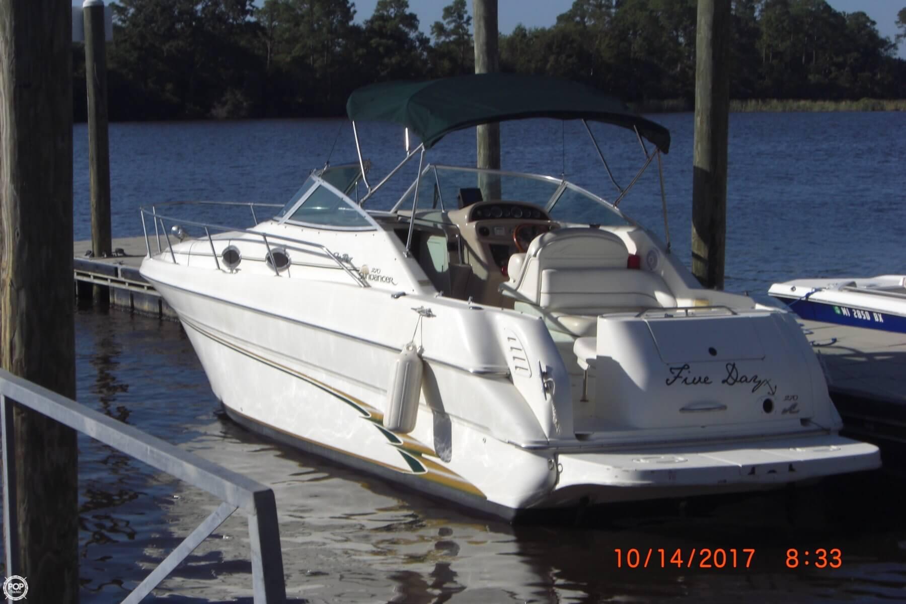 sea ray warranty 2001 jaguar s type fuel pump wiring diagram sold 270 sundancer boat in gulfport ms 136079 1999 for sale
