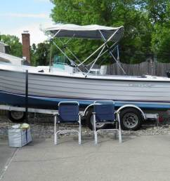 1976 chris craft dory fisherman 22 for sale [ 1600 x 1200 Pixel ]