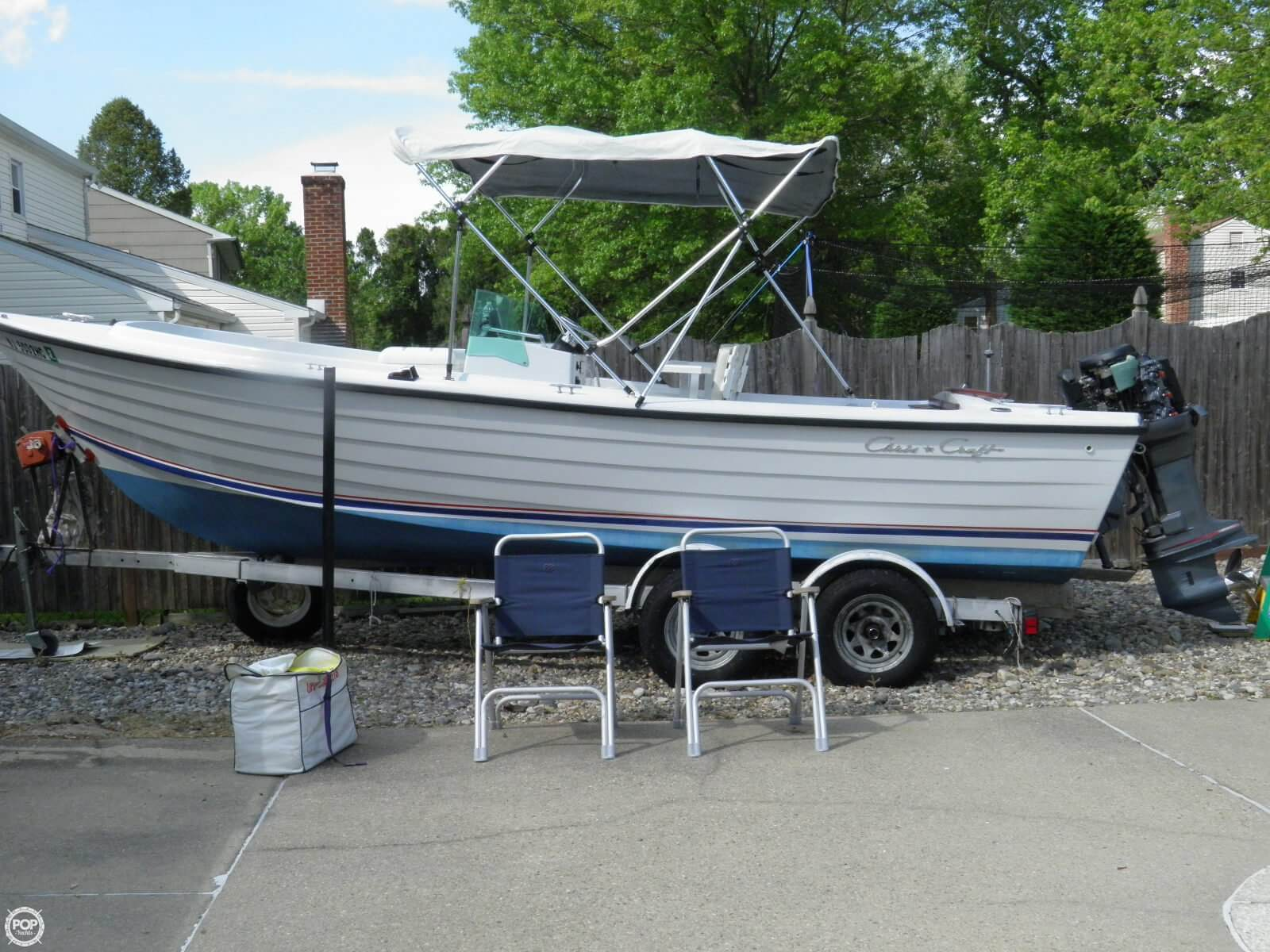 hight resolution of 1976 chris craft dory fisherman 22 for sale