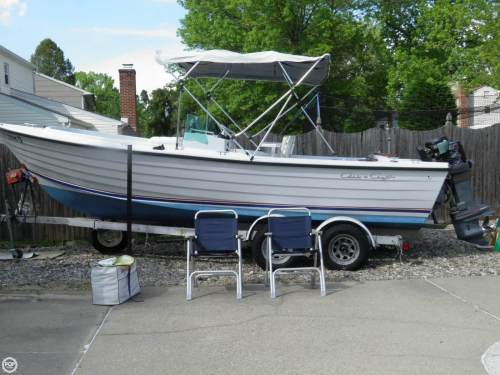 small resolution of 1976 chris craft dory fisherman 22 for sale