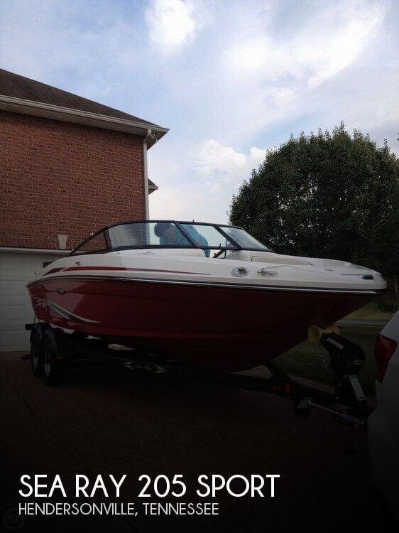 sea ray warranty two gang light switch wiring diagram sold 205 sport boat in hendersonville tn 067105 2012 for sale