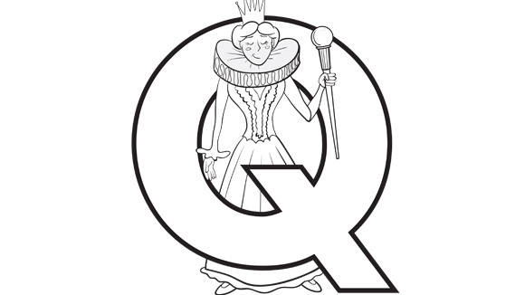 start with letter q Colouring Pages (page 2)