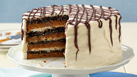 Blue Ribbon Pumpkin Cake  Grandparentscom