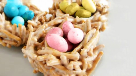 chow mein noodles easter or spring dessert