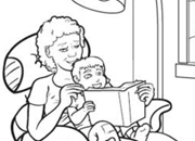 Grandparents Day Coloring Pages & Printables