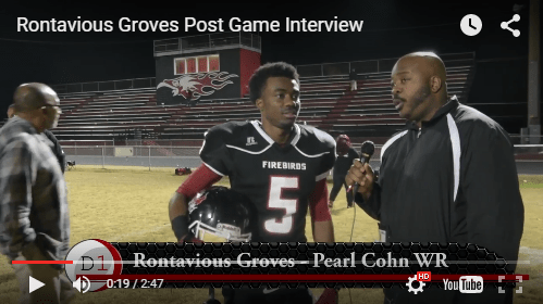 Rontavious Groves Post Game Interview  D1 Highlights