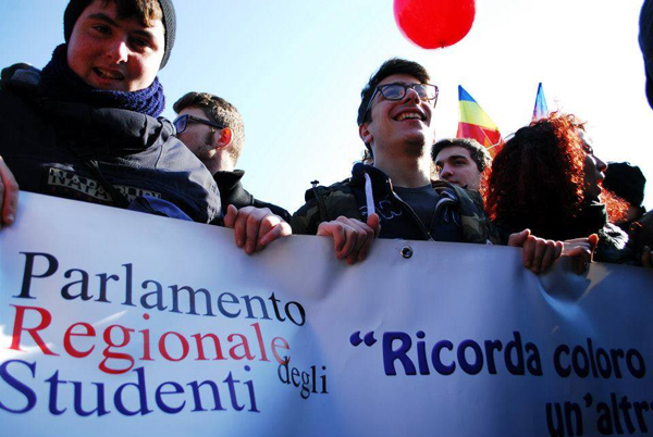 parlamento regionale degli studenti
