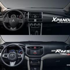 Xpander Vs Grand New Avanza Stop Lamp Veloz Head To Comparison Toyota Rush Mitsubishi