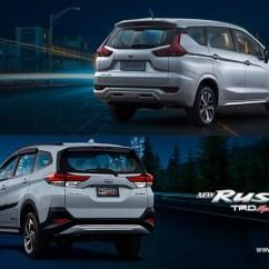 Mitsubishi Xpander Vs Grand New Veloz Speedometer All Kijang Innova Head To Comparison Toyota Rush
