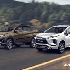 Xpander Vs Grand New Avanza Agya G Trd Head To Comparison Toyota Rush Mitsubishi Autodeal