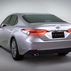 All New Camry 2018 Philippines Black Toyota 2019 Price Specs Autodeal Rear