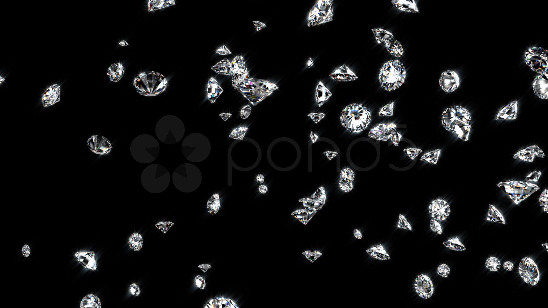 Falling Money 3d Wallpaper Premium Falling Diamonds High Resolution Hi Res Video 572901