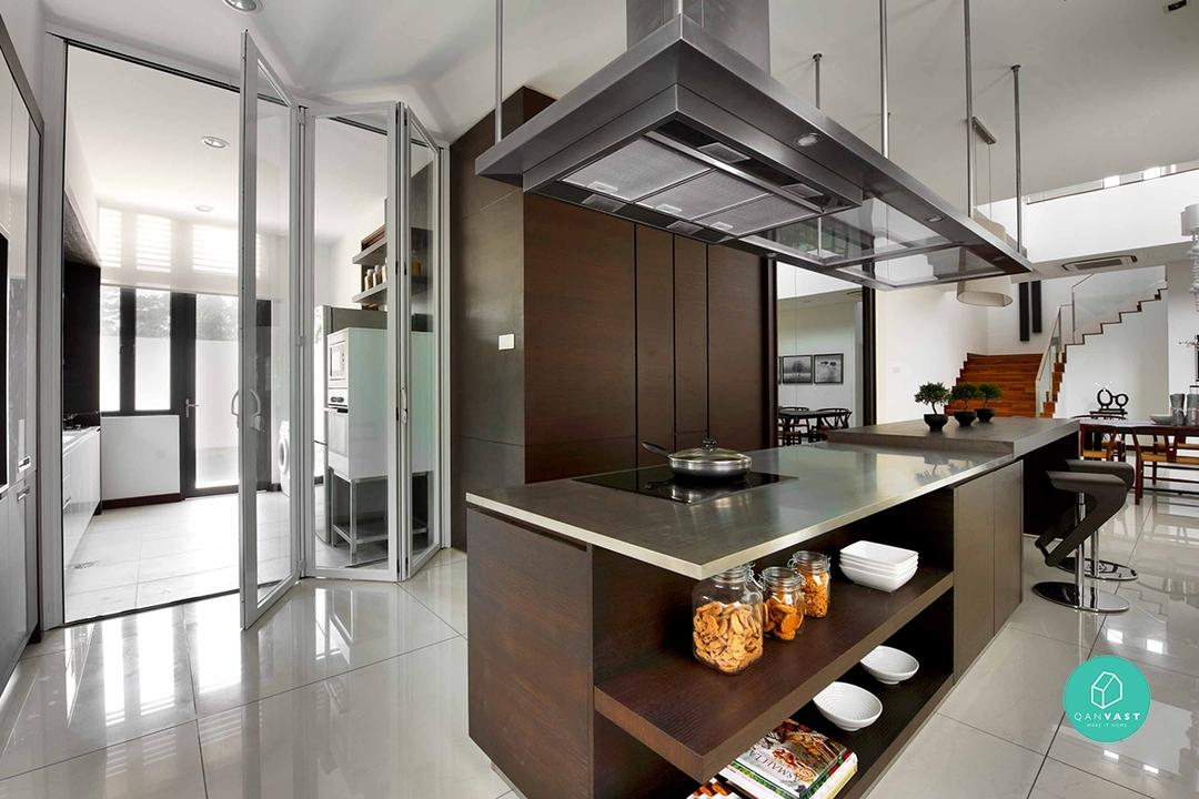 6 Practical Wet And Dry Kitchen Ideas Qanvast