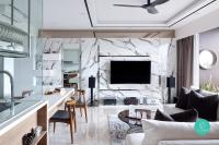 9 TV Feature Wall Ideas For Your Living Room   Qanvast